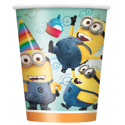 Despicable Me 2   9 oz cups - nyea's Party Store
