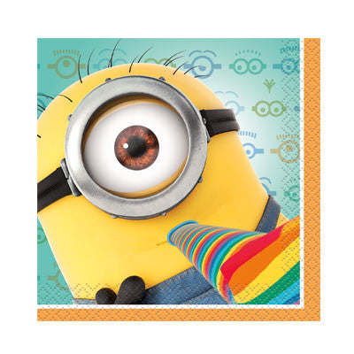 Despicable Me 2 Beverage Napkins - nyea's Party Store