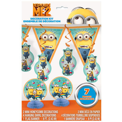 Despicable Me 2 Decoration Kit - nyea's Party Store