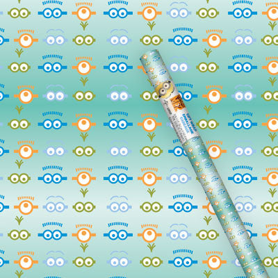 Despicable Me 2 Gift Wrapping Paper - nyea's Party Store