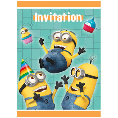 Despicable Me 2 Invitations - nyea's Party Store
