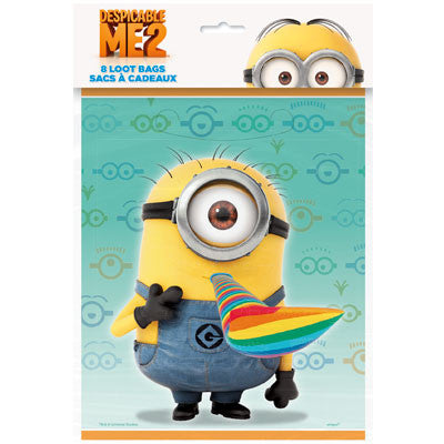 Despicable Me 2 Loot Bags - nyea's Party Store