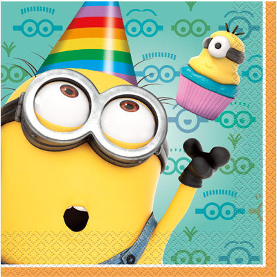 Despicable Me 2 Lunch Napkins - nyea's Party Store