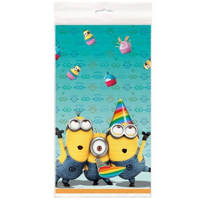 Despicable Me 2 Plastic Table Cover - nyea's Party Store