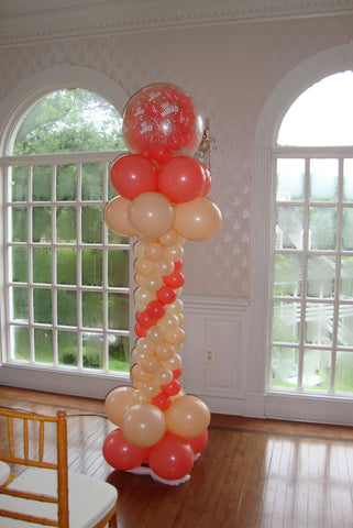 6Ft Slim Spiral Column - Nyea's Party Store