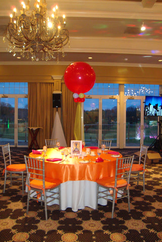 3 Ft Latex Balloon Centerpiece - Nyea's Party Store