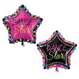 "30"" DANCE STAR SHAPE MYLAR BALLOON - nyea's Party Store    - 2"
