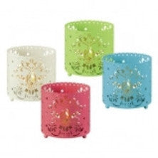 Decorative Pierced Ambiance Tea Light Candle Holders - nyea's Party Store    - 1