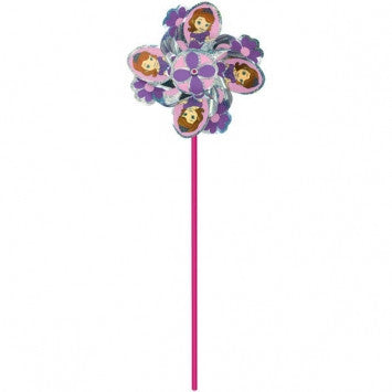 Disney Sofia the First Pinwheel - nyea's Party Store