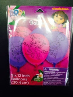 Dora the Explorer Balloons - nyea's Party Store