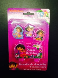 Dora the Explorer Candle - nyea's Party Store