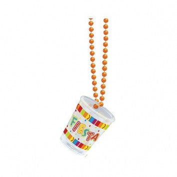 Cinco de Mayo Fiesta Shot Glass Necklace - nyea's Party Store