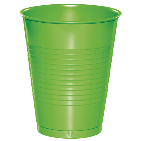 Lime 16 oz Plastic Cups - nyea's Party Store