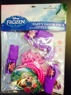 Disney Frozen Favor Packs - nyea's Party Store