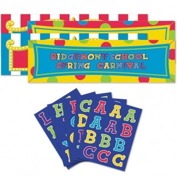 Giant Personalized Banner Kit - nyea's Party Store