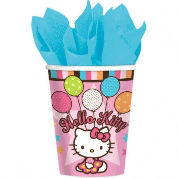 Hello Kitty 9 oz Cups - nyea's Party Store