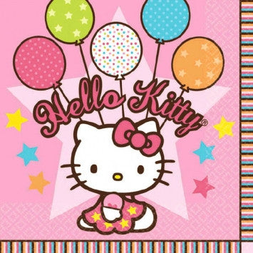 Hello Kitty Beverage Napkins - nyea's Party Store