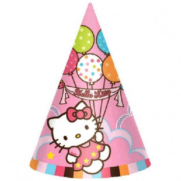 Hello Kitty Cone Hats - nyea's Party Store