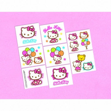 Hello Kitty Tattoos - nyea's Party Store