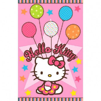 Hello Kitty Balloon Dreams Table Cover - nyea's Party Store
