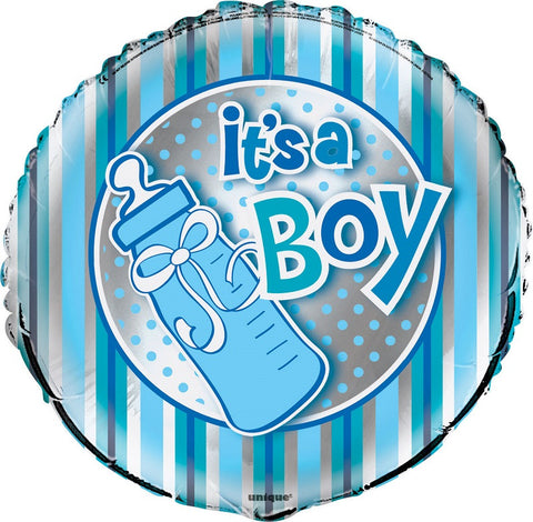 It's a Boy 18 inches Foil Balloon - nyea's Party Store