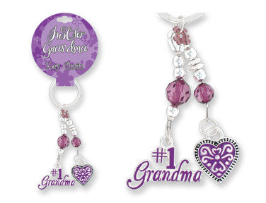 Just For Grandma Keychain - nyea's Party Store