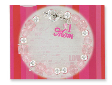 Just For Mom Charm Bracelet - nyea's Party Store