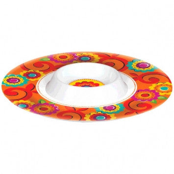 Cinco de Mayo Melamine Chip & Dip Bowl - nyea's Party Store