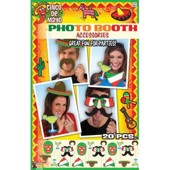 Mexican Photo Booth Set Cinco de Mayo - nyea's Party Store