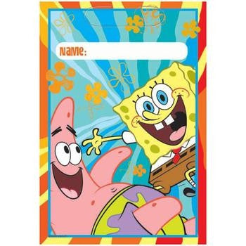 Spongebob Loot Bag - nyea's Party Store