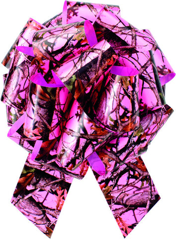 Next Vista Pink Camo Pull Bow - nyea's Party Store