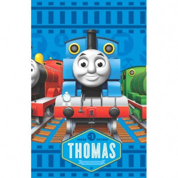 Thomas The Tank Plastic Table Cover - nyea's Party Store
