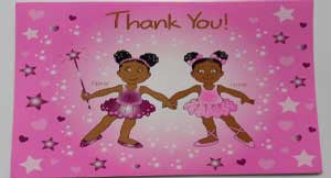 Penny and Pepper Thank You Cards - nyea's Party Store