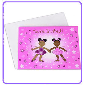 Penny and Pepper Invitations - nyea's Party Store