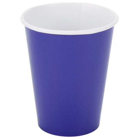 Purple 9oz Paper Cups - nyea's Party Store