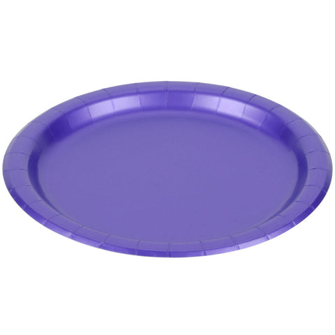 Purple 10 x 12 inches Oval Platter - nyea's Party Store