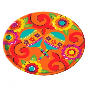 Cinco de Mayo Melamine Round Platter - nyea's Party Store