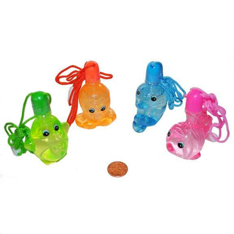 Sea Life Bubble Bottles Necklace Value Pack - nyea's Party Store