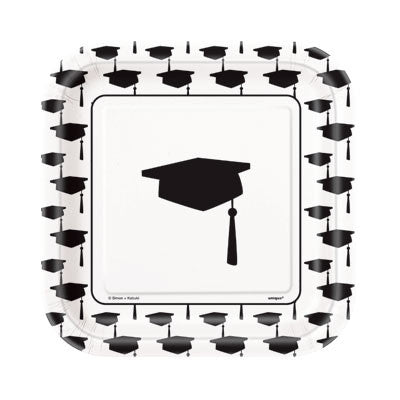 Simply Grad 7 inches Plates - nyea's Party Store