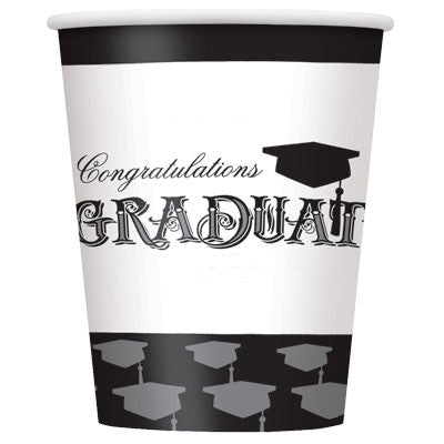 Simply Grad 9oz Cups - nyea's Party Store