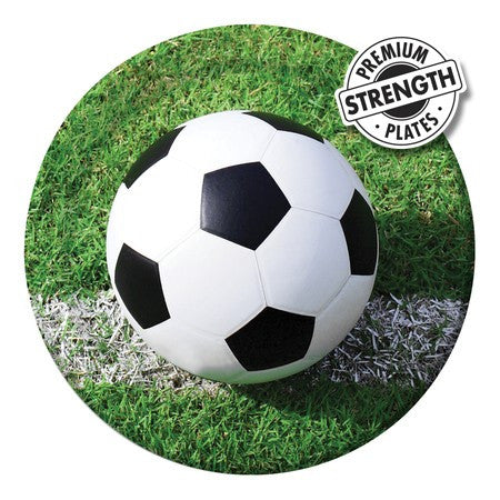 Soccer - 9 Inch Dinner Plates - nyea's Party Store