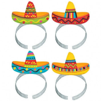 Cinco de Mayo Sombrero Headbands - nyea's Party Store