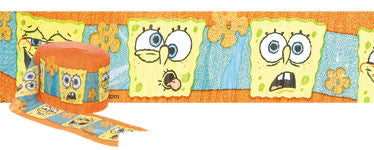 Spongebob Crepe Streamers - nyea's Party Store