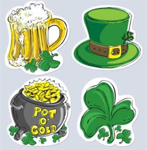 St. Patrick's Day 16 Inch Cutouts - nyea's Party Store