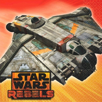 Star Wars Rebels Beverage Napkins - nyea's Party Store