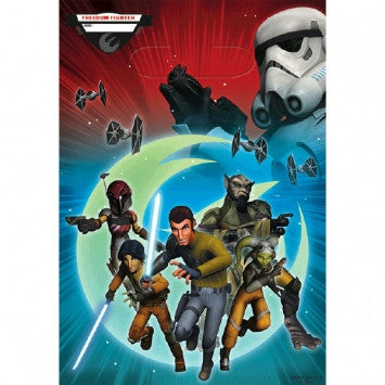 Star Wars Rebels Folded Loot Bag - nyea's Party Store