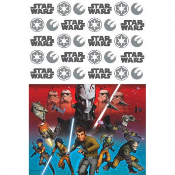 Star Wars Rebels Plastic Table Cover - nyea's Party Store