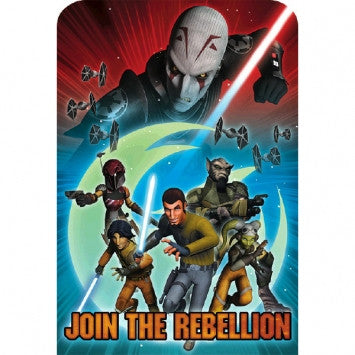 Star Wars Rebels Postcard Invitations - nyea's Party Store