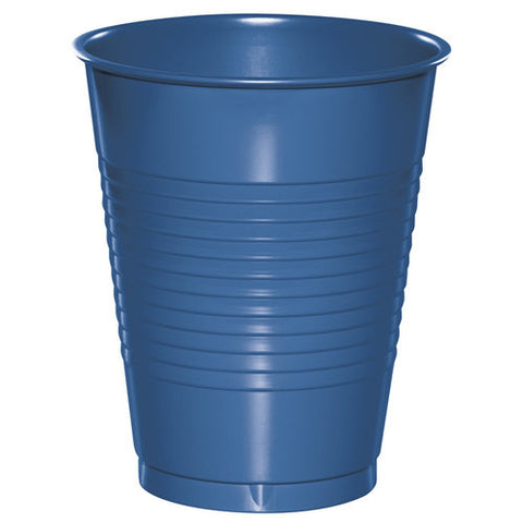 True Blue 16 oz Plastic Cups - nyea's Party Store