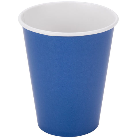 True Blue 9oz Paper Cups - nyea's Party Store